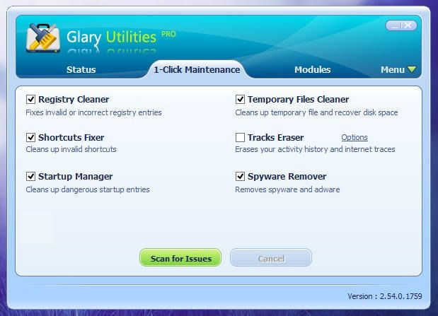 Glary Utilities is like a Swiss Army Knife for Windows that lets you