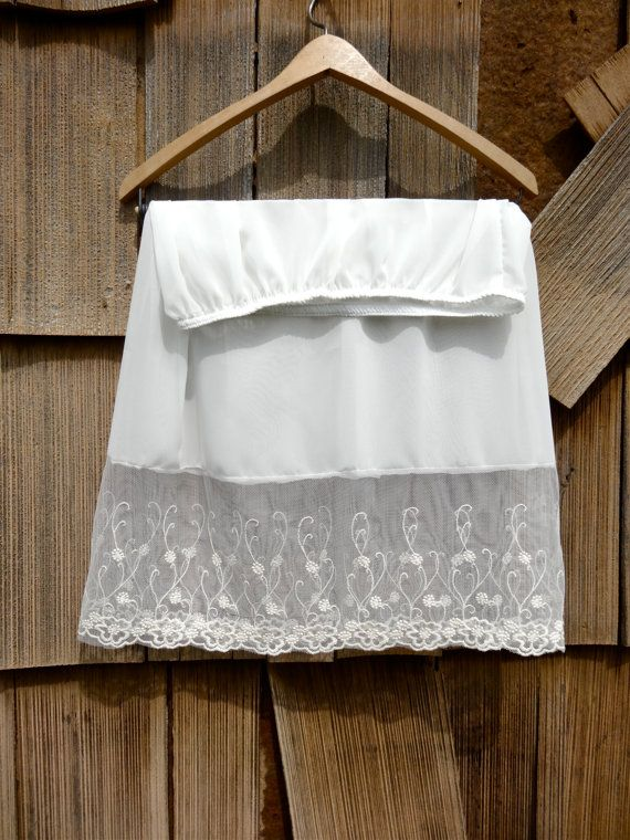 These lace Skirt Extenders are so popular for this Spring/Summer! Add a slip under your favorite Skirt or dress for a dainty lace layered look!