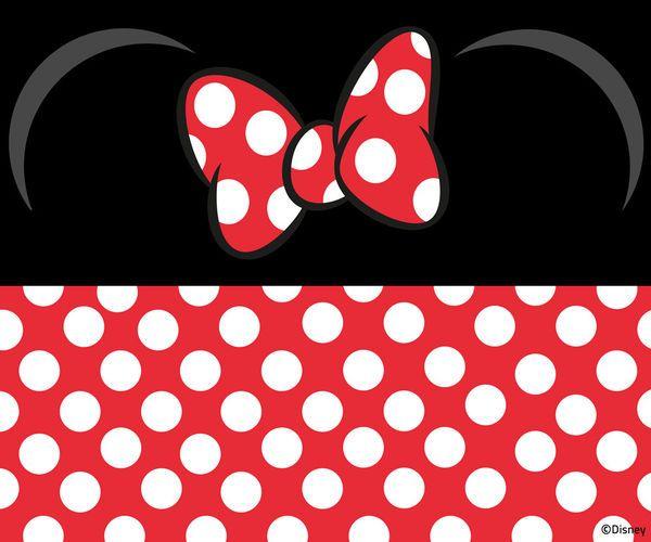 Minnie wallpaper Mickey / Minnie mouse Pinterest