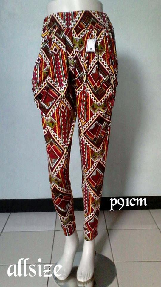 Celana Panjang Legging Allsize P:91cm,pinggang karet Rp.60.000,-