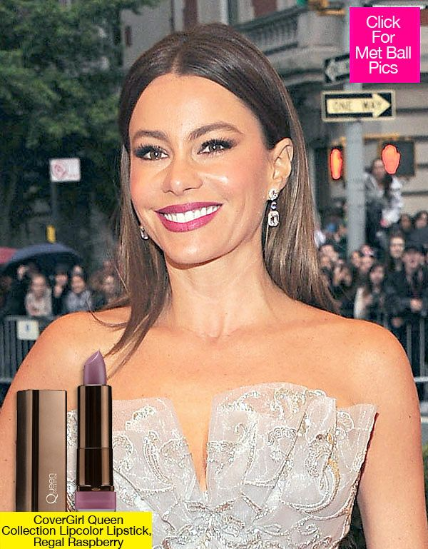 Get Sofia Vergara's Smoldering 2012 Met Ball Makeup Look