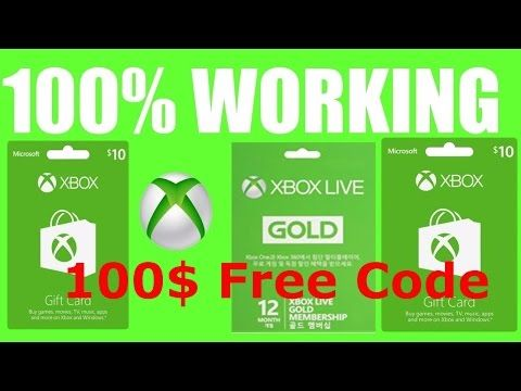 Best Free XBOX CODE GIVEAWAY - How to get Free Xbox Gift Cards Code