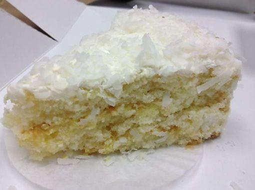 Coconut Cream Cake La Madeleine