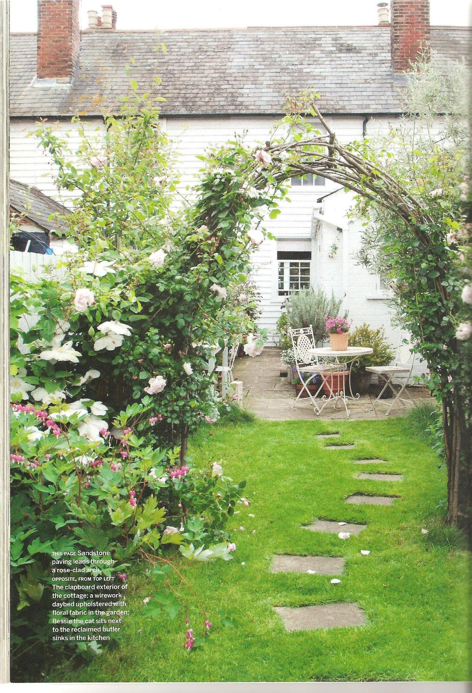 From Country Living Magazine Cottage gardens Pinterest Country
