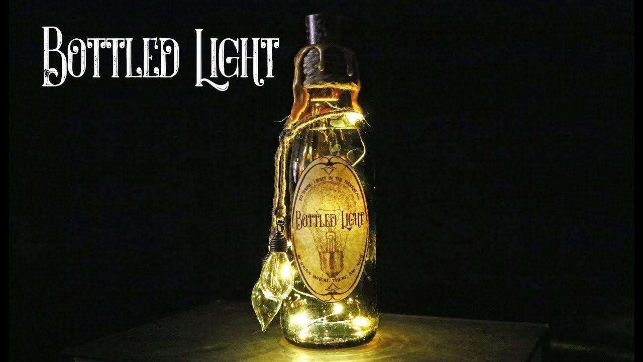 Halloween Decor Undead Elixir Prop Bottle with Fairy Lights