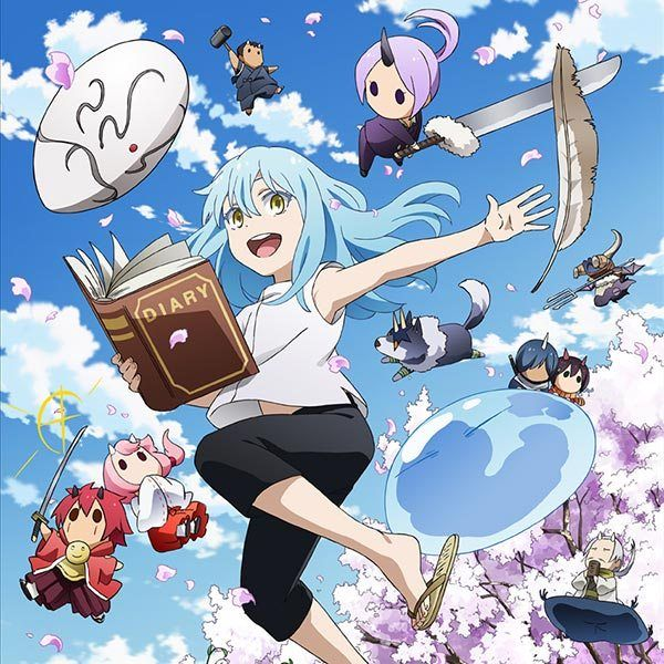 Tensura Nikki Tensei Shitara Slime Datta Ken Anime Art