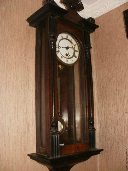 f3dd174f4d357 Винтажные предметы интерьера. Старинные настенные часы для спальни. Ян С..  Ярмарка Мастеров