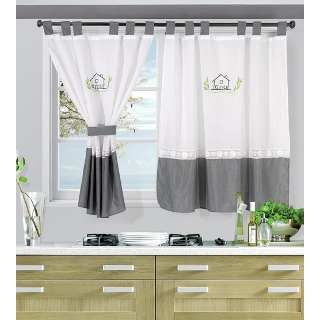 Cortinas Para Cocina Google Search Home Curtains Modern Kitchen Curtains Curtains And Draperies