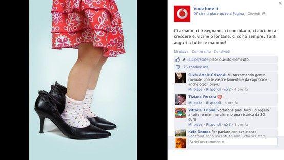 Vodafone per la #festadellamamma