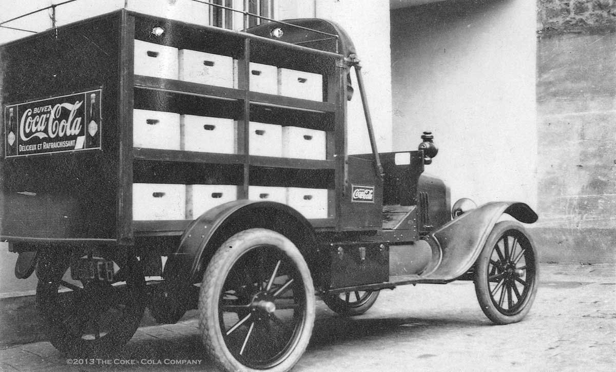 Model T Ford Forum: Old Photo - Model T Coca-Cola Delivery Truck