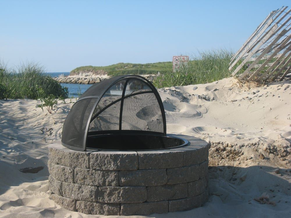 """37"""" Spark Screen CC Fire Pits in 2020 Fire pit spark"""