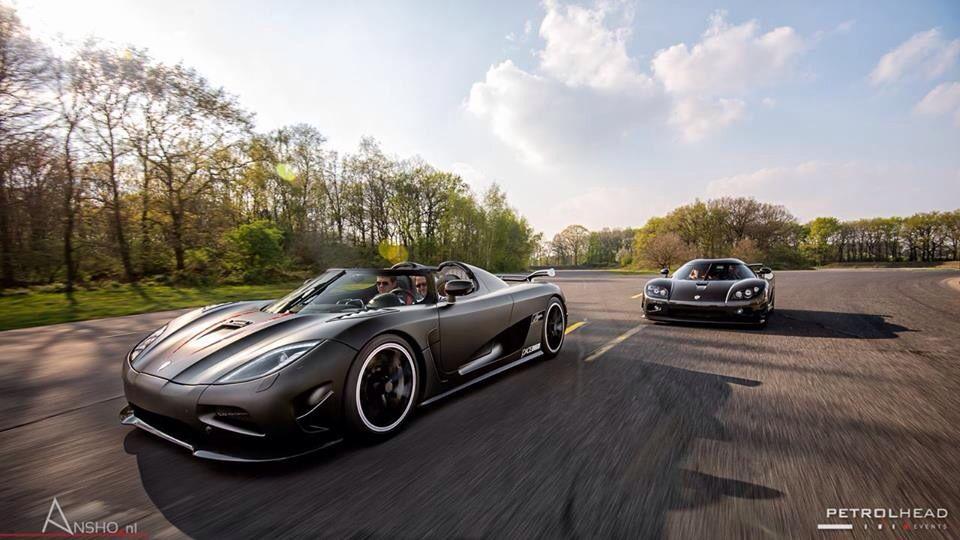 Attractive The Matte Black Koenigsegg Agera Is Chased By A Koenigsegg CCX Edition At  The Petrolhead Events
