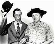 Ma and Pa Kettle movies.....