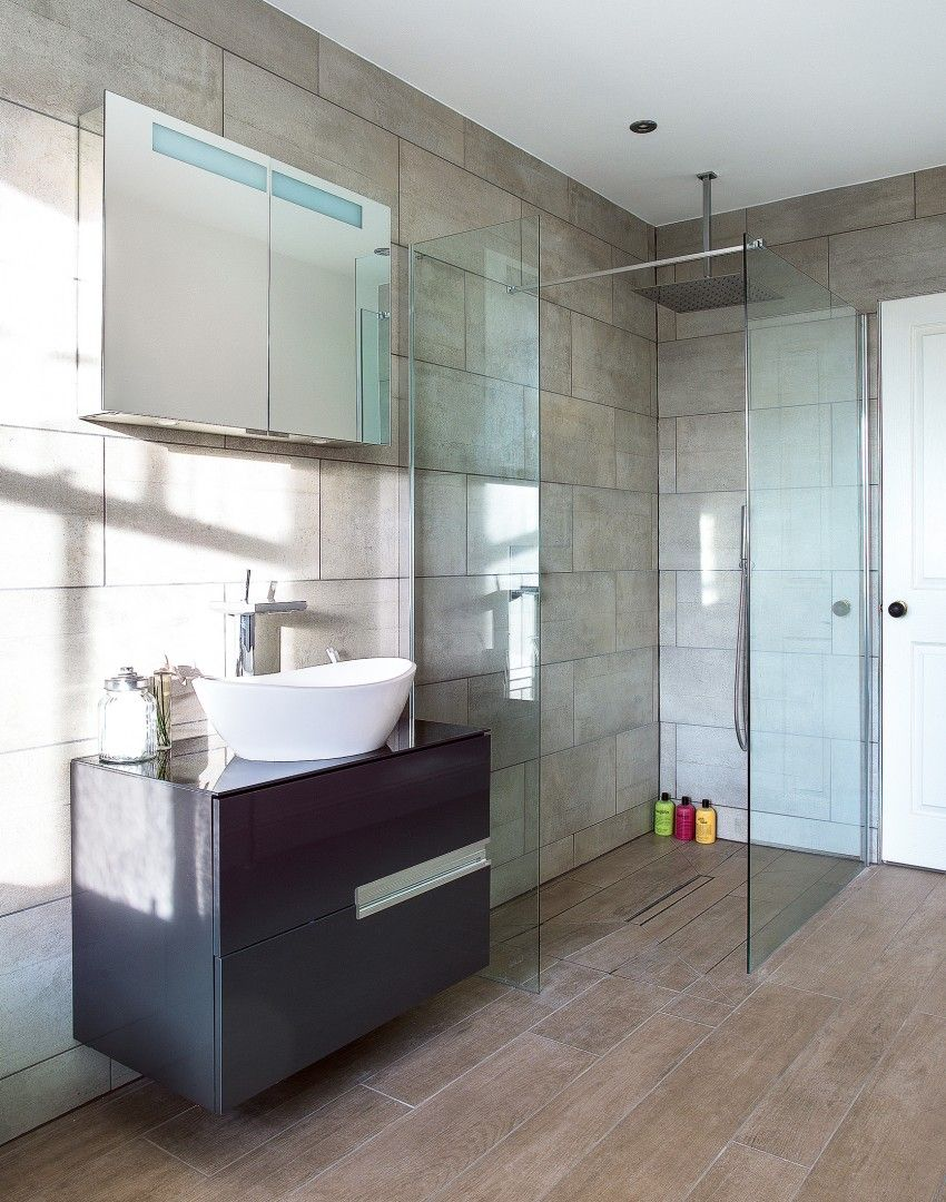 A walk-in shower is the height of luxury... If you\'ve got the space ...
