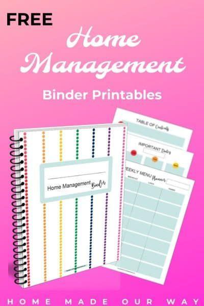 Photo of Home Management Binder – Organisieren Sie Ihre Familie