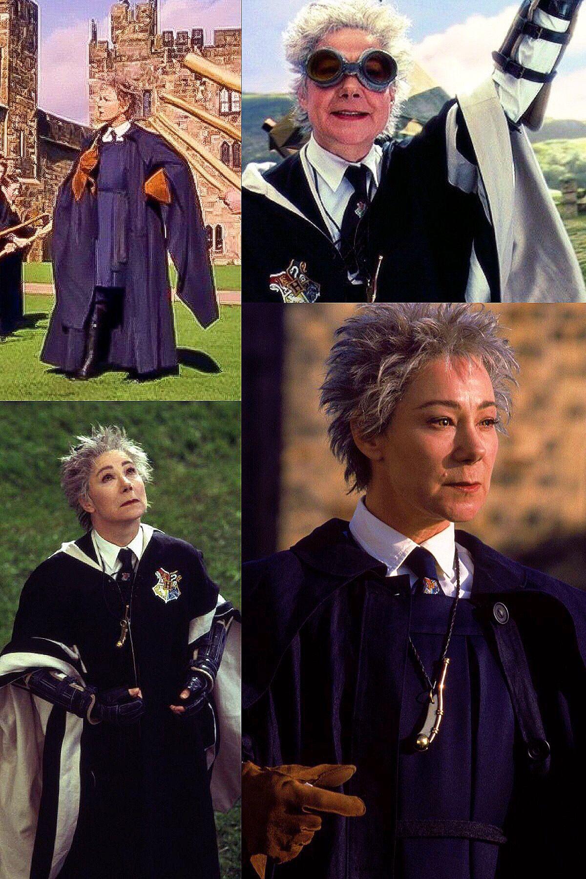 Professor Rolanda Hooch Harry Potter Characters Hogwarts Staff Harry Potter