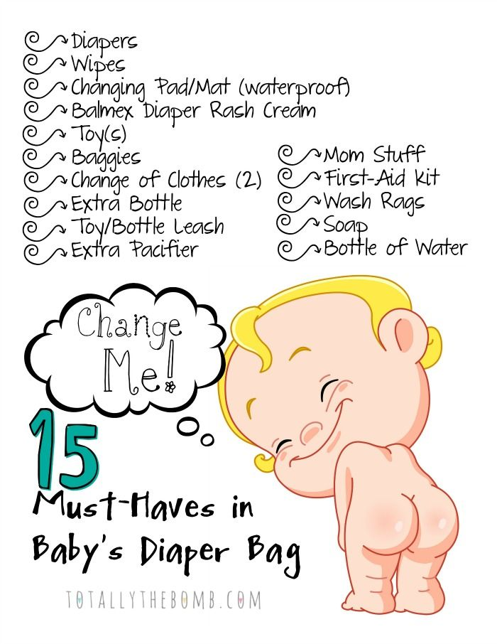 If It S Your First Time Ng A Diaper Bag You Re In Luck I Mase List Of 15 Must Haves Baby And Also Made Free Printable