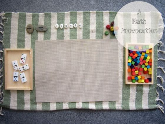 a reggio math provocation from an everyday story Setting up a Reggio inspired Activity