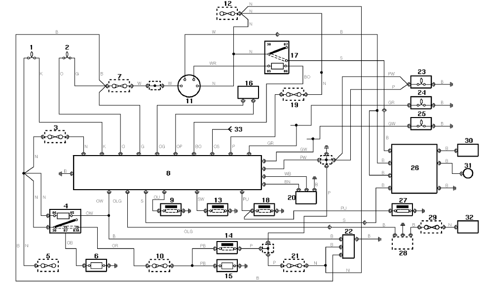 Mgb Wiring Diagram Symbols 2002 Land Rover Defender Electrical Circuit Diagram Eee