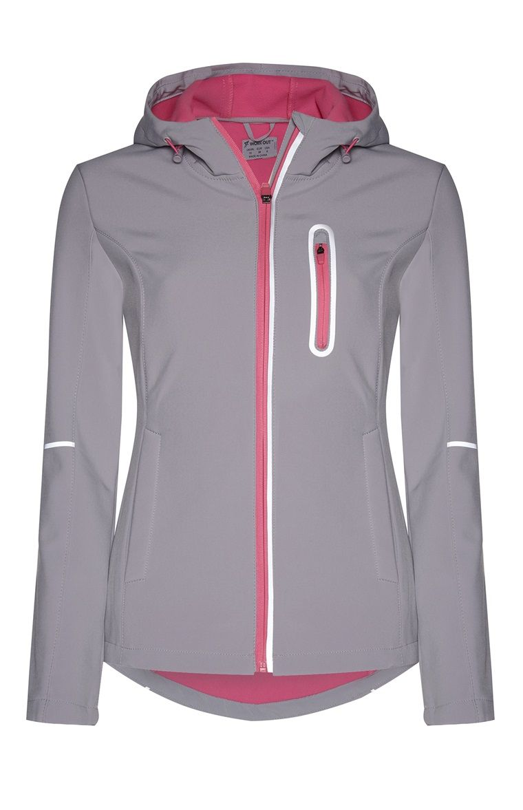 Primark - Chaqueta deportiva gris  029a39d4f287b