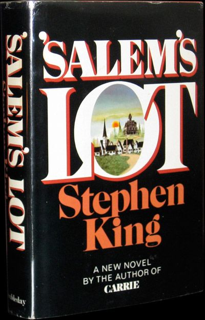 Salem's Lot, Steven King. Just in case, in this era of the young sexy vampire, you forget that these are indeed savage monsters...