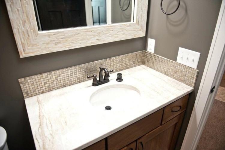 Bathroom Vanity Backsplash Ideas Contemporary Backsplash Vanity