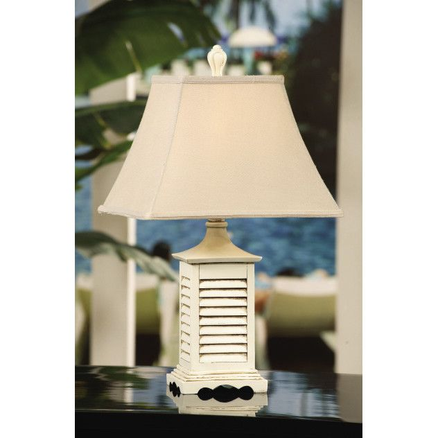 "Crestview Collection Seaside 23"" Table Lamp"