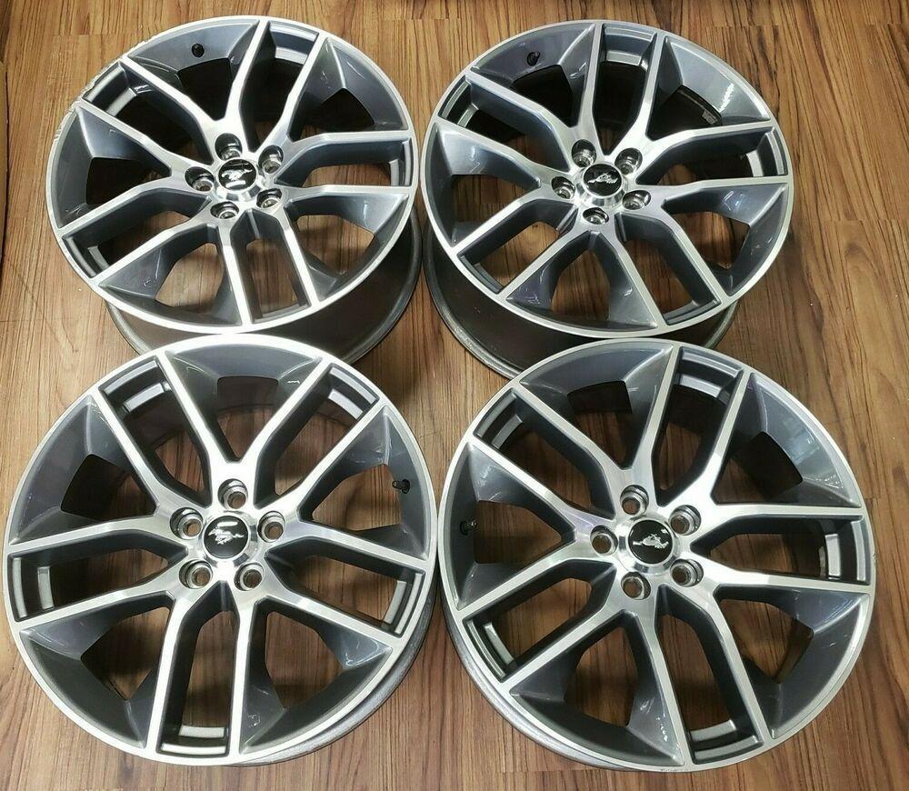 Advertisement Ebay 20 Ford Mustang Gt Oem Wheels Rims 2014 2015