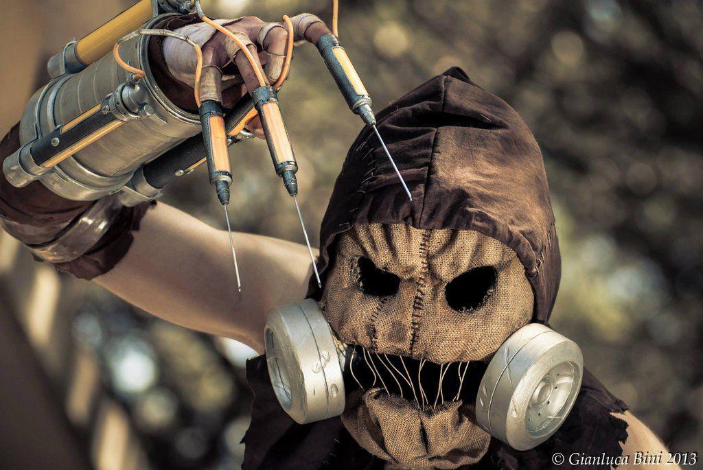 Batman Scarecrow Arkham Asylum
