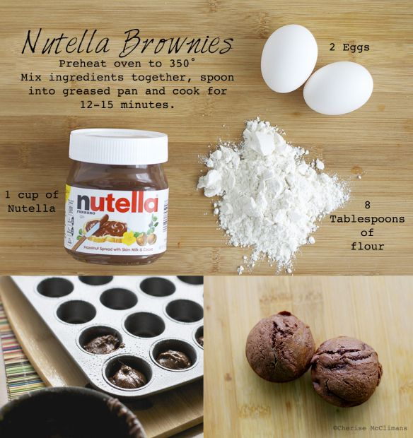 Nutella Brownies Nutella Brownies Nutella Easy Nutella Brownies