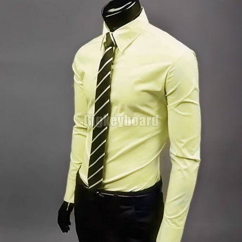 How to wear yellow dress shirt
