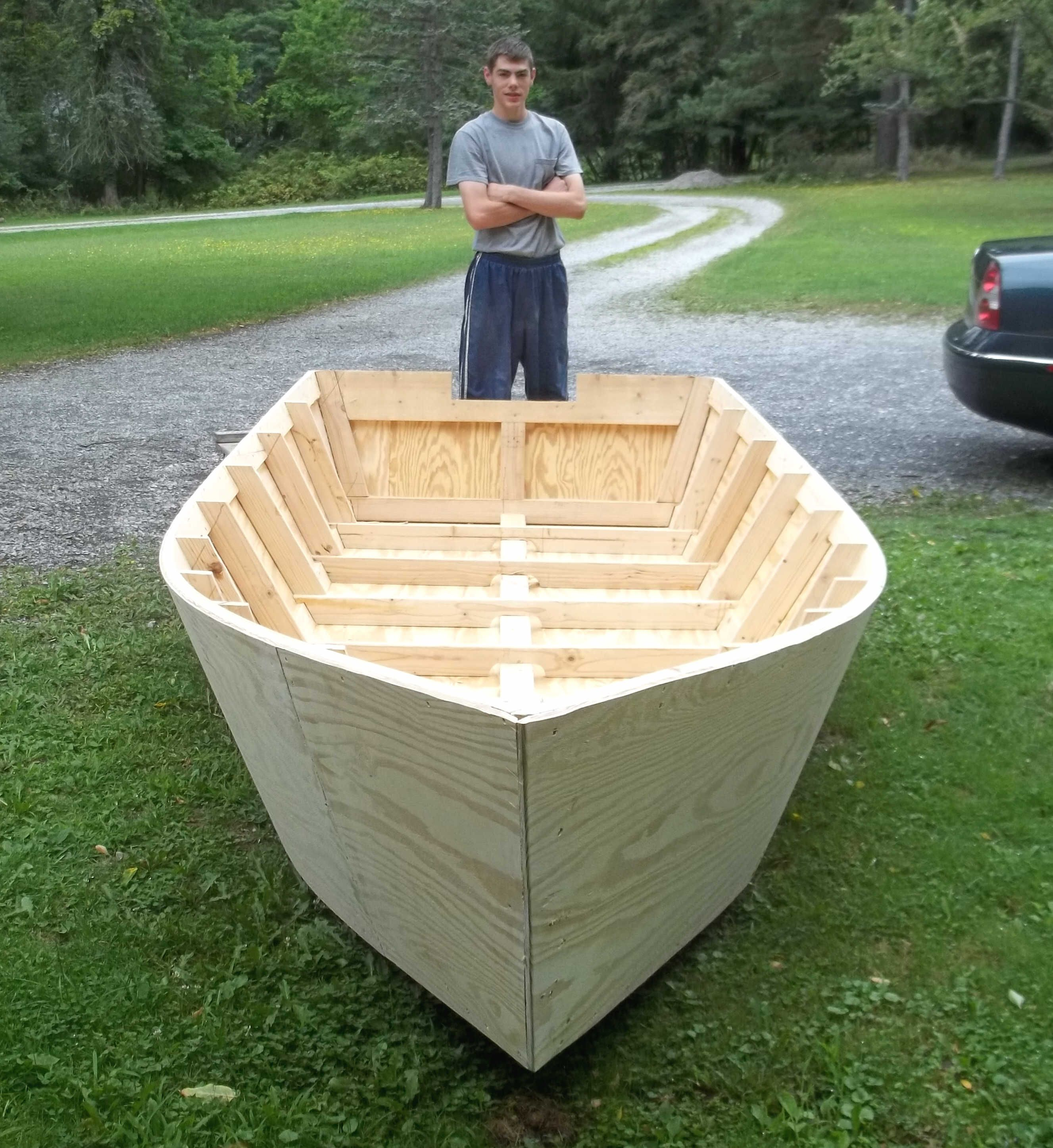 Can you really build your own small boat woodworking for Build a house kits