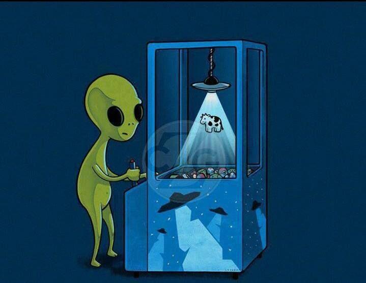 Alien Playing... TooGEEK