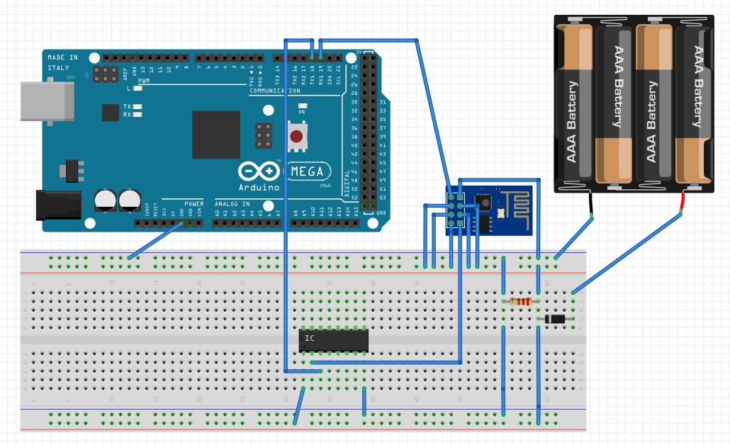 Connecting your arduino to wifi via an esp module