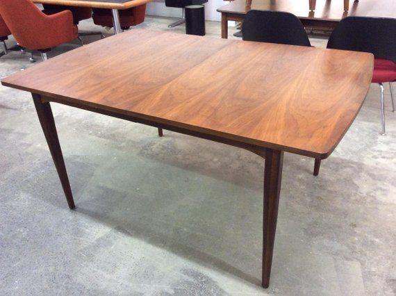 bd20a291e88b5 Kipp Stewart Drexel Walnut Dining Table Mid Century Modern ...