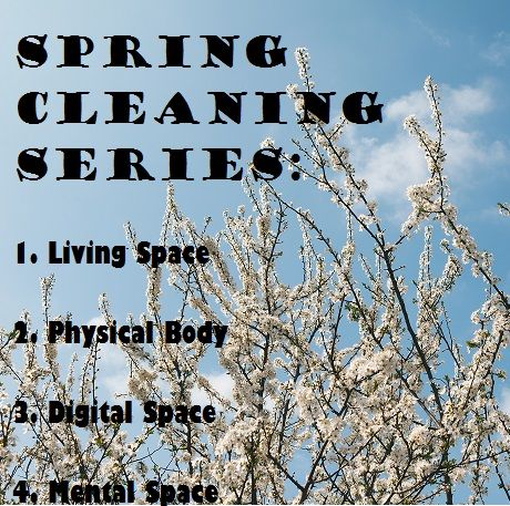 Spring Cleaning Series: Blog series for detoxing your home, body, phone, and mind..