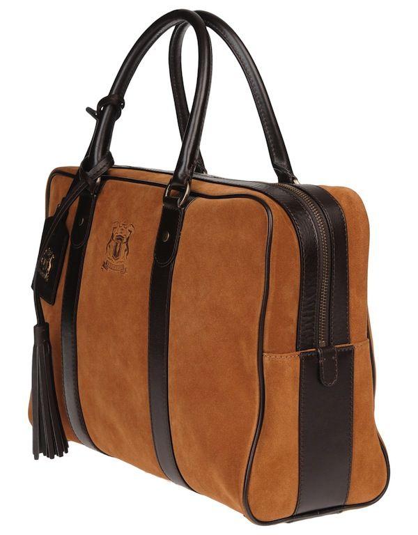 bb0a041ac Trussarsi 1911 Mens Bags Bolso De Viaje, Cuero, Zapatos De Atar, Bago,