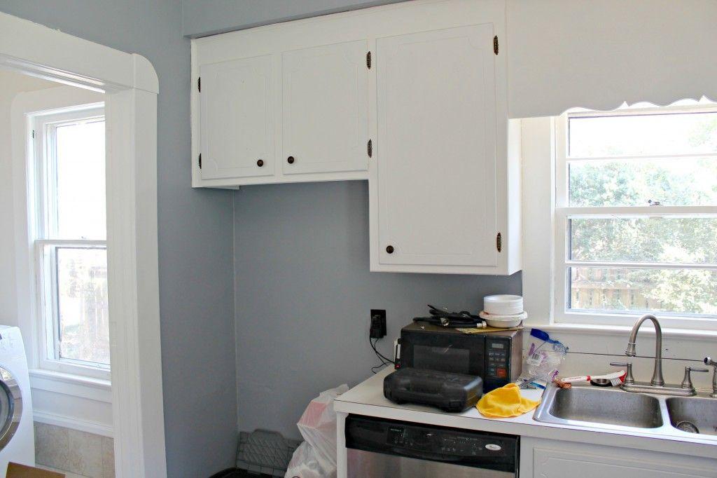 Sherwin Williams Morning Fog Kitchen Remodel Home
