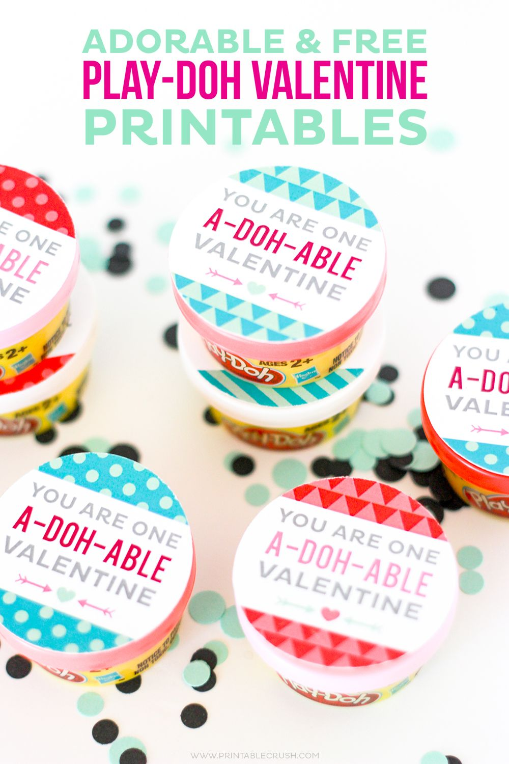 photo about Play Doh Valentine Printable known as Lovely and No cost Engage in-doh Valentine Printables Im a