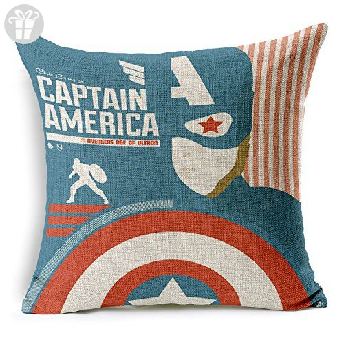 Chicozy Cotton and Linen 18-Inch by 18-Inch Cushion Cover (*Amazon