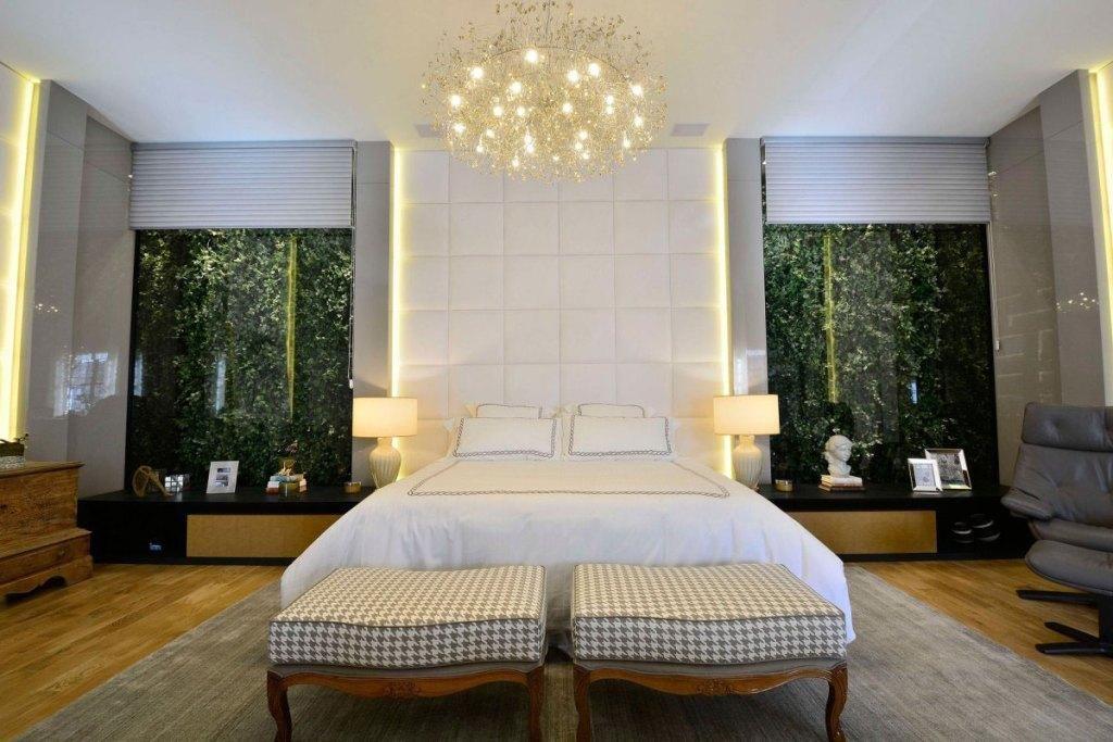 Kronleuchter für Doppelzimmer: 60 Modelle in schönen ...