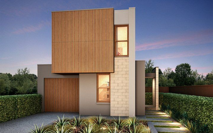 Metricon Homes: Breeze 25 - Cube Facade. Visit www ...