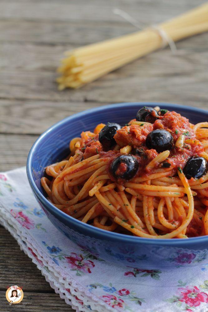Ricetta Della Pasta Con Tonno E Olive Nere Primo Piatto Veloce E