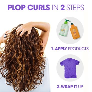Plop For Curl Perfection Curly Hair Styles Plopping Curly Hair Hair Plopping