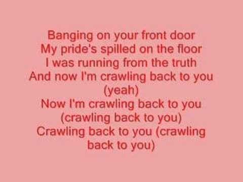 Backstreet Boys Crawling Back To You Lyrics Youtube Yours Lyrics Backstreet Boys Lyrics