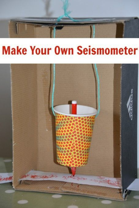 make a model seismometer