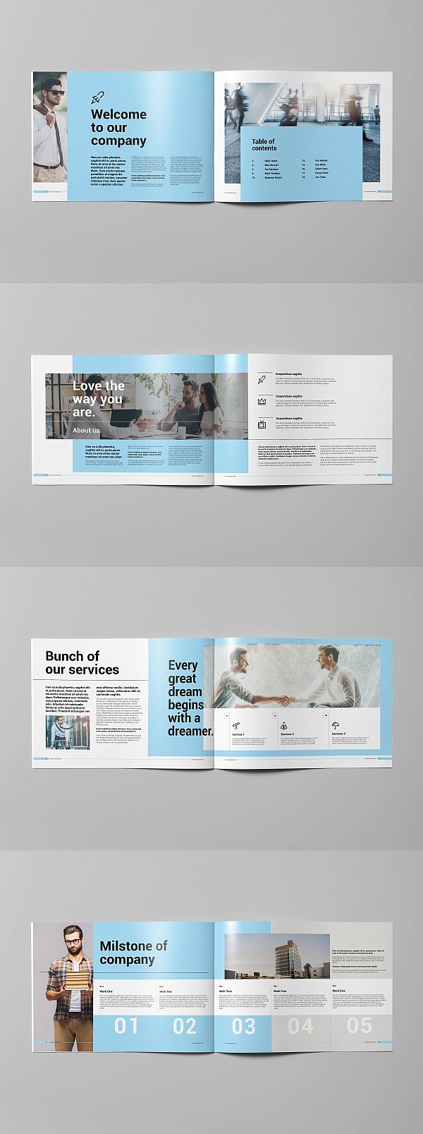 45+ Corporate Brochure Templates for Adobe InDesign - Visual Arts & Identity