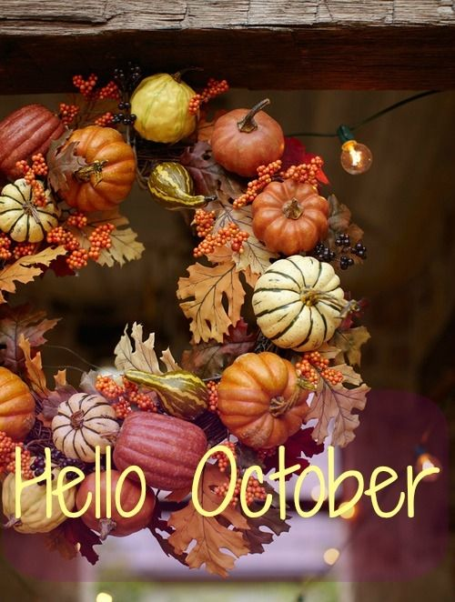 Hello October Fall Month Quotes