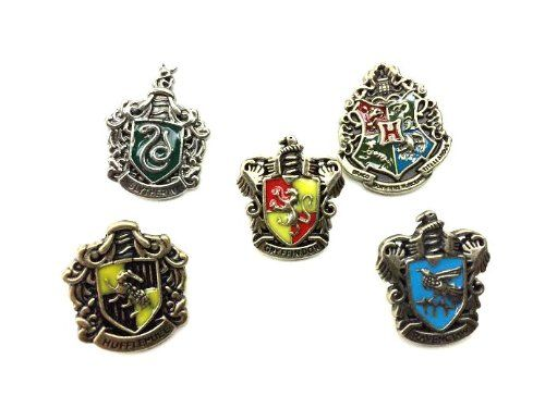 Set of 5 Harry Potter goods fine chapter brooch accessories decoration [my] Self Store (japan import @ niftywarehouse.com