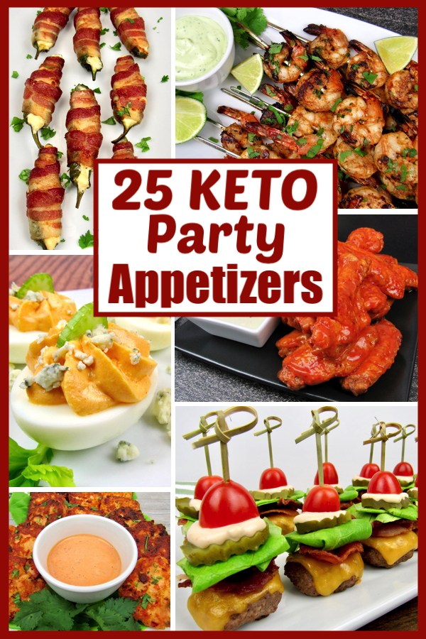 25 Keto Party Appetizer Recipes